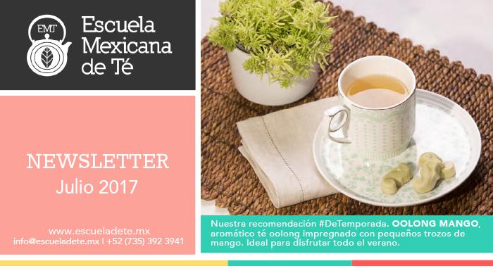 Escuela Mexicana de Té | Julio