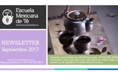 Escuela Mexicana de Té | Septiembre