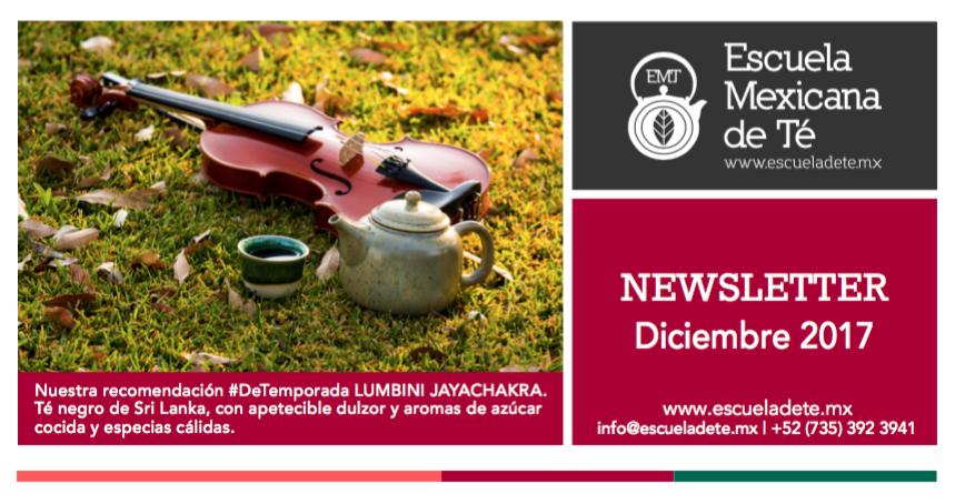 Escuela Mexicana de Té | Diciembre