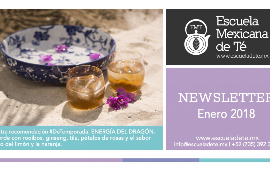 Escuela Mexicana de Té | Enero