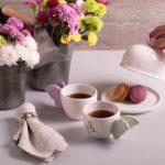 Macarons y té… ¡pareja decembrina!