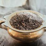 Ahumar… ¡Con té!