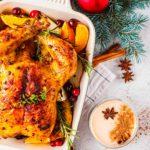 Dele sabor al pavo de Navidad… ¡con té!