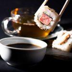 Sushi y té, ¡armonización al punto!
