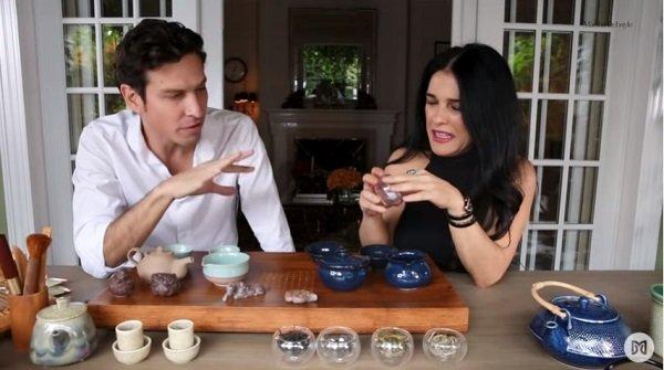 el arte de tomar té